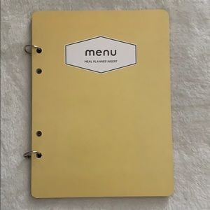 Other - Menu Meal Planner Insert notebook